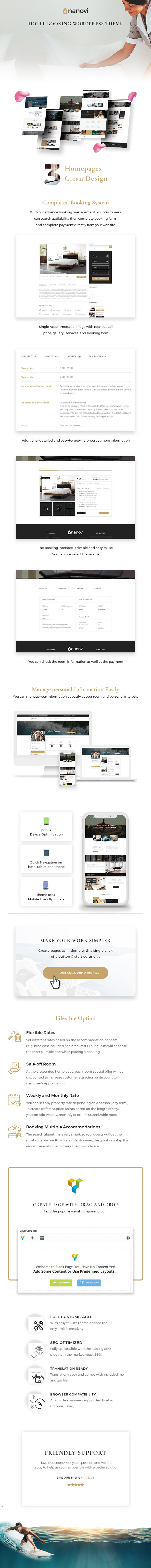 Nanovi - Resort and Hotel WordPress Theme - 5